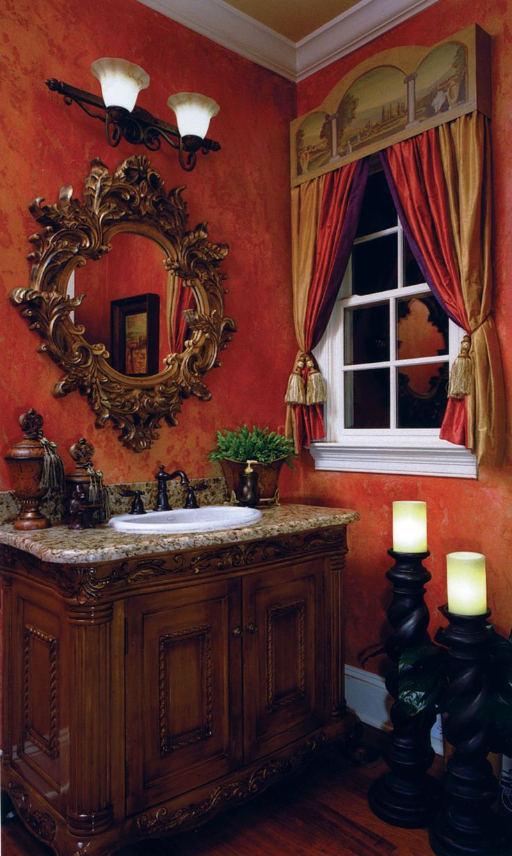 76 best mediterranean bathrooms images on pinterest bathroom love the curtains plants decor and candles tuscany style tuscan bathroom