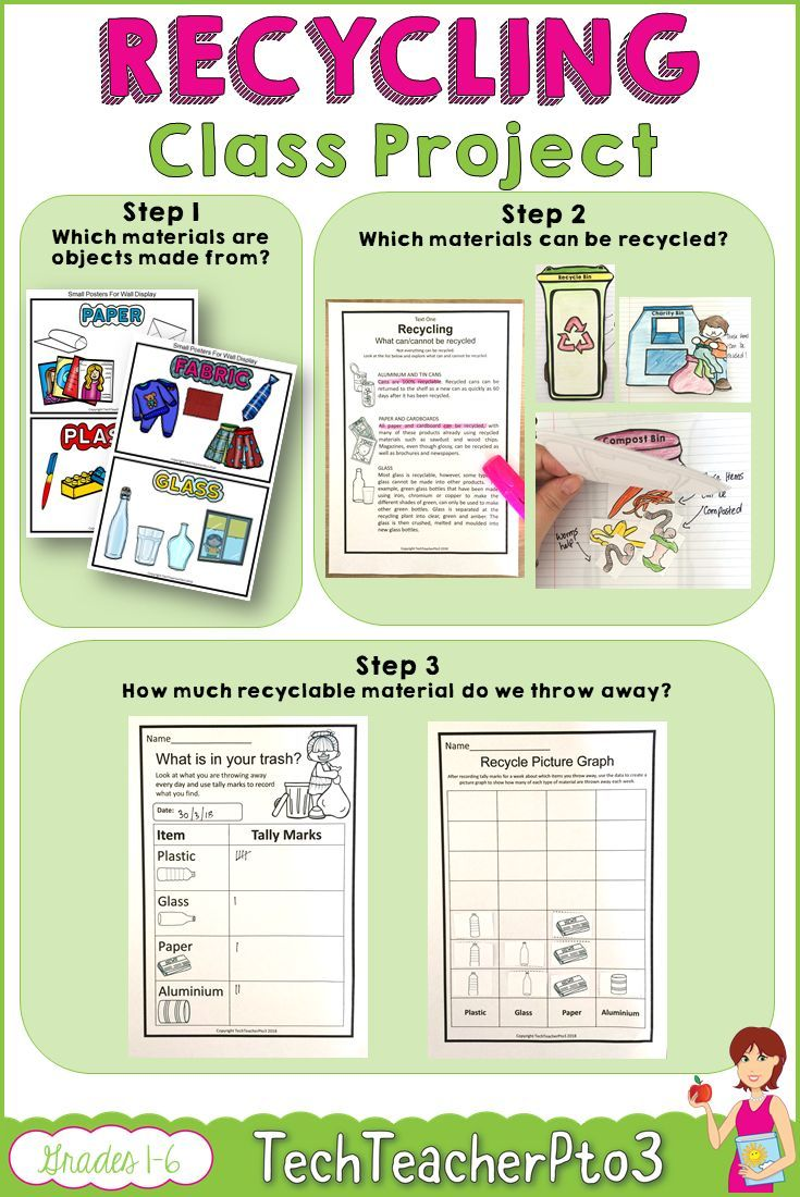 small resolution of Recycling Activity Pack includes lots of fun activities about how to recycle