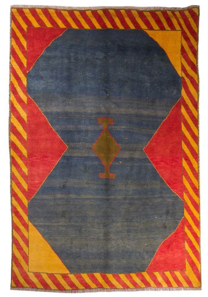 Wunderschöner Perser Teppich Gabbeh Handgeknüpfte alfombra oriental 270 x 200 cm