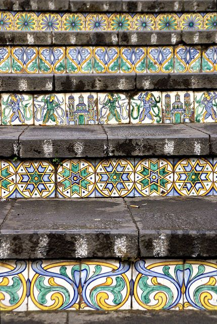 Caltagirone, Scalinata di Santa Maria del Monte (Staircase of Santa Maria del Monte)