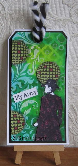 Made by Myra..... with love: Artjourney challenge : gebruik stencils