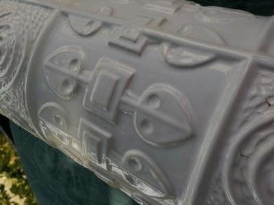 Weiteres - BAY KERAMIK BODEN VASE PLASTISCHES DEKOR VINTAGE - ein Designerstück von ausBoehmensHainundFlur bei DaWanda
