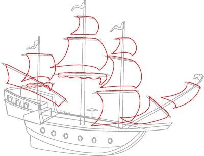 "TLC ""How to Draw Boats: Pirate Ships"""