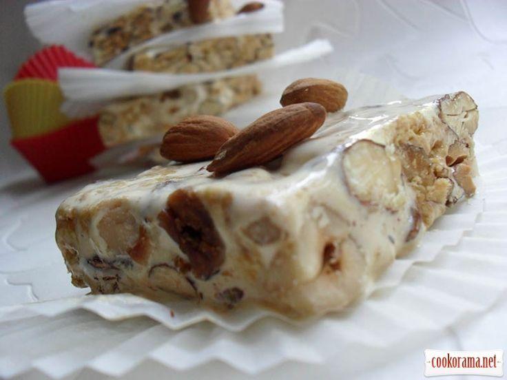 Хихонский туррон / Сладости и конфеты / Кукорама — вкусные рецепты!