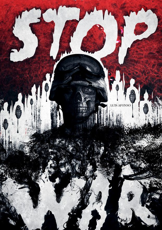 Stop War  - by shadowtuga