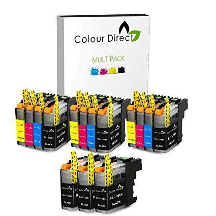 15 ( 3 Ensembles + 3 Noir ) Colour Direct LC123 Compatible Chipped Cartouches d'encre Remplacement Pour Brother DCP-J132W DCP-J152W DCP-J552DW MFC-J650DW DCP-J752DW DCP-J4110DW MFC-J870DW MFC-J4410DW MFC-J4510DW MFC-J4610DW MFC-J4710DW MFC-J470DW MFC-J650DW MFC-J6520DW MFC-J6720DW MFC-J6920DW Imprimantes