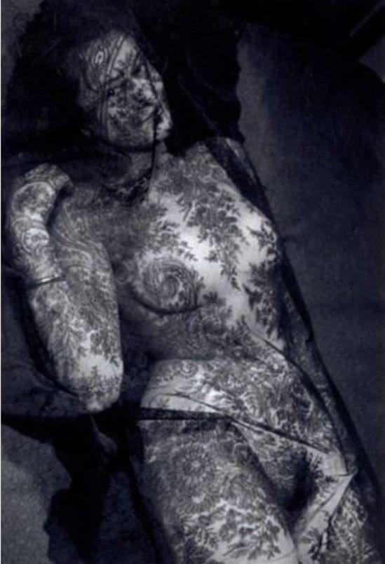 Emiel van Moerkerken. Femme à la dentelle 1945