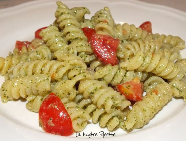 Le nostre Ricette: Pasta fredda pesto e pomodorini