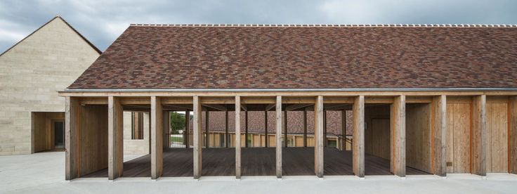 BQ + A Quirot / Vichard / Lenoble / Patrono architects, Luc Boegly · Health House in Vézelay · Divisare