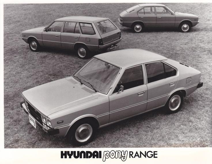 Hyundai Pony range (1978)