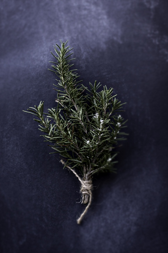 Rosemary boutonnieres via Besotted