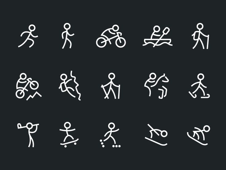 Sport Icons by Daan Schaart