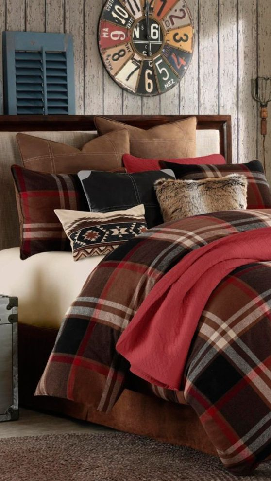 Rustic Grand Canyon Bedding Log Cabin Bedding