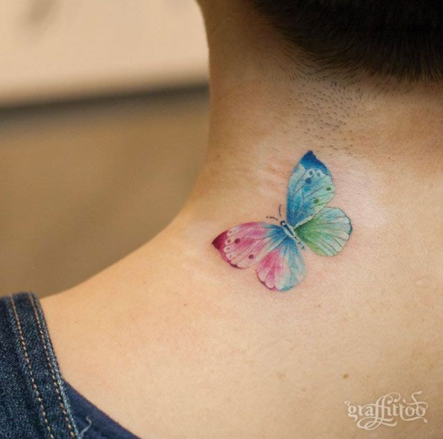 Butterfly Tattoo Design by Graffittoo