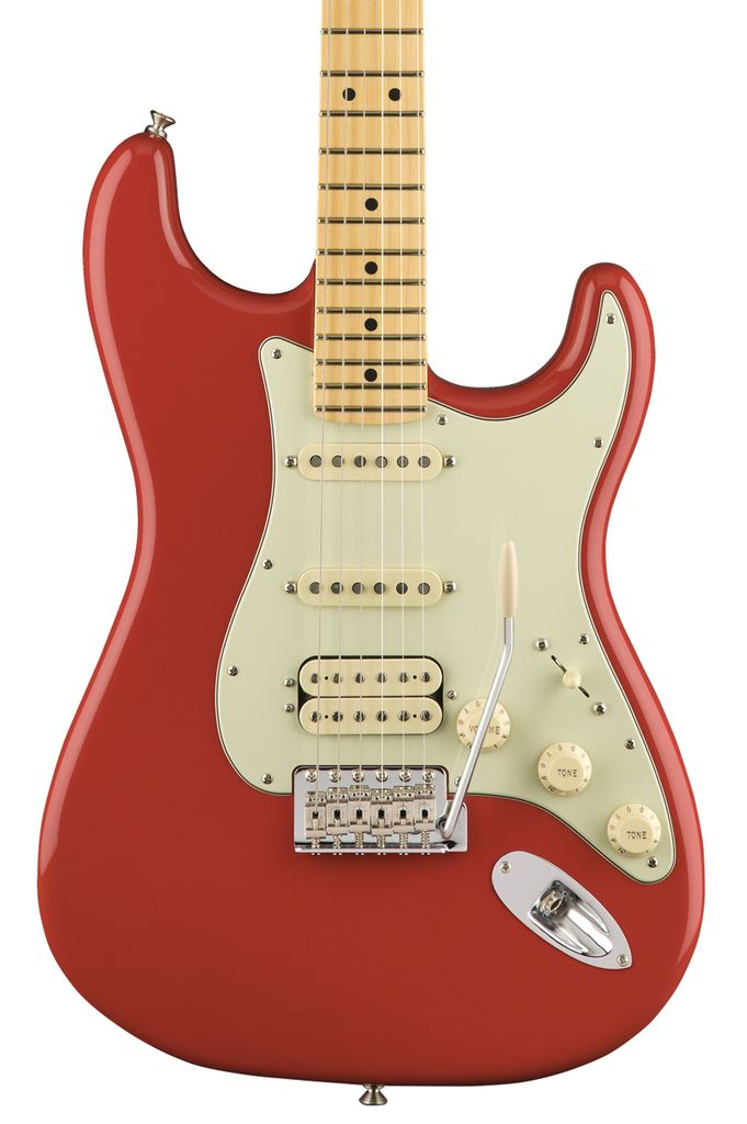 Fender American Special Stratocaster HSS with Maple Fretboard - Fiesta Red