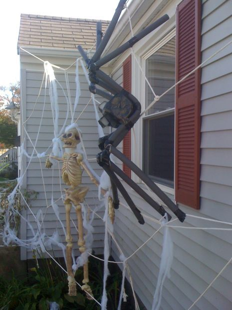 giant spiderweb house decoration for halloween - Giant Spider Web Halloween Decoration