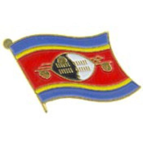 """Swaziland Flag Pin 1"""" by FindingKing. $8.50. This is a new Swaziland Flag Pin 1"""""""