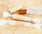 Personalized Caramel Wedding Favors
