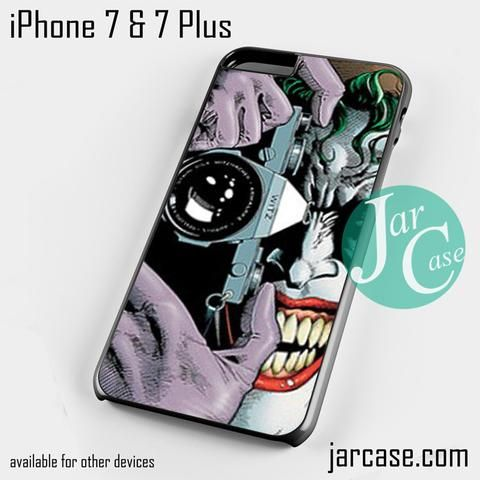 jokers camera Phone case for iPhone 7 and 7 Plus
