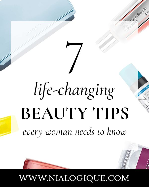 7 Life-Changing Beauty Tips Every Woman Needs To Know About | makeup tips, makeup hacks, hair tips, skin care tips, sunscreen, lipstick, fake tan, beauty blogger, beauty hacks, makeup for beginners | #makeuptips #beautytips #skincaretips