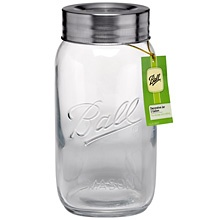 1 gallon storage jar.  Unfortunately, it's not made in the USA like the Ball canning jars are.  :(