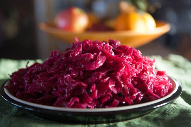 This is a simple recipe for red cabbage sauerkraut, outrageously healthy, thoroughly delicious and easy to make.