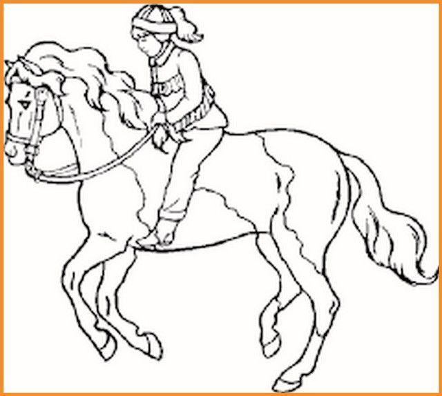 pferde ausmalbilder reiten - tiffanylovesbooks