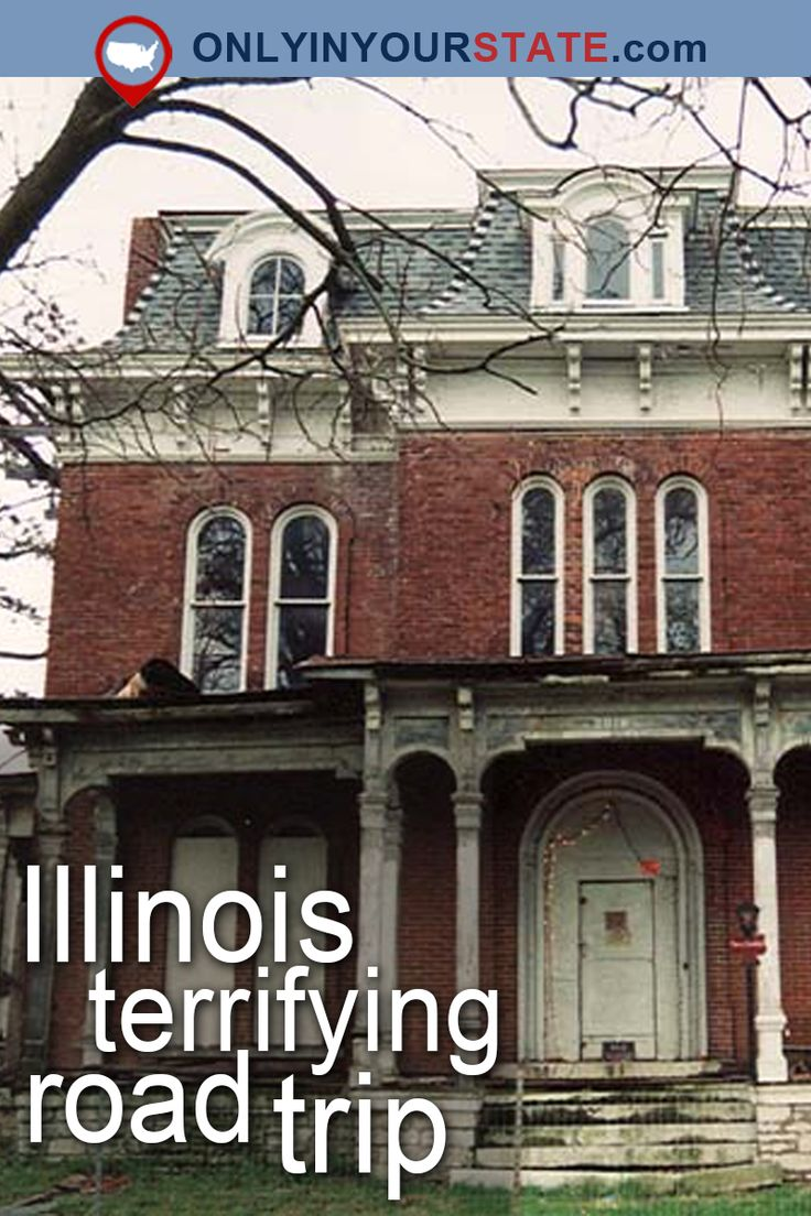 Travel | Illinois | Attractions | USA | Haunted US | Ghost Stories | Scary | Paranormal Activity | Urban Exploring | Real Haunted Places | Road Trips | Abandoned Places | Creepy | Illinois Road Trip | Ghosts | Terrifying | Haunted Cemetery | Abandoned Hospital | Haunted Illinois | Ruins | Places To Visit | Haunted Hospital | Haunted Library