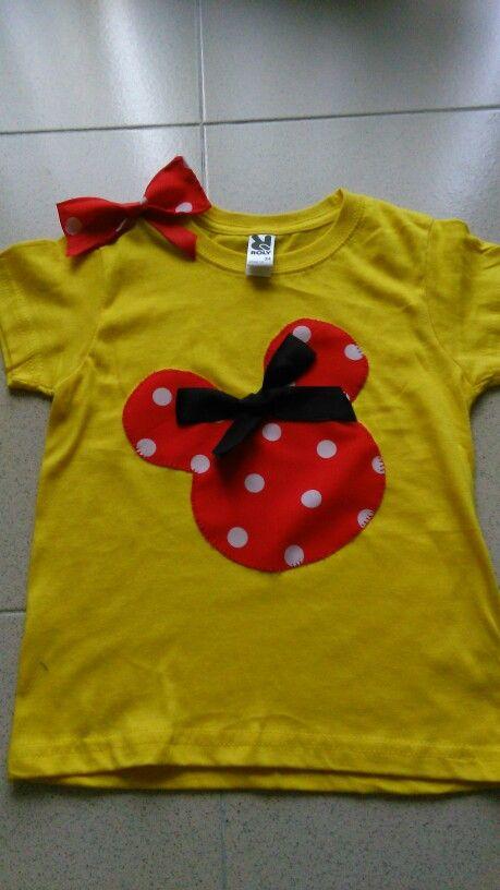 #camisetaminnie