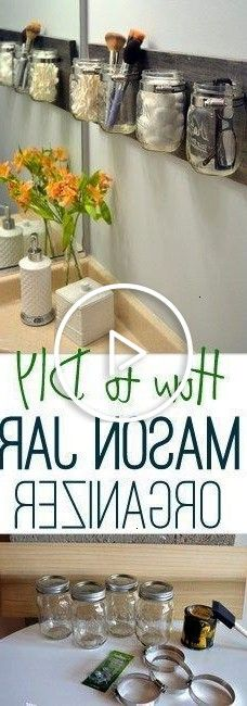 #organized #bathroom #yourself #pretty #tips #wall