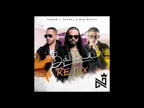 "Nacho,Yandel, Bad Bunny - Bailame (Official Remix) - VER VÍDEO -> http://quehubocolombia.com/nachoyandel-bad-bunny-bailame-official-remix   	 Nacho, Yandel, Bad Bunny ""Bailame"" (Remix)  Sigue a Nacho: Official Site: Facebook: Instagram: Twitter: 	 Créditos de vídeo a Popular on YouTube – Colombia YouTube channel"