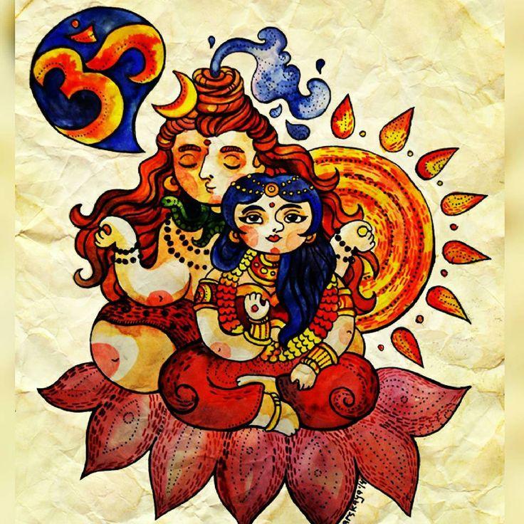62 Best Illustration Of Hindu Gods & Goddesses Images On Pinterest