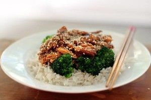 Here is a delicious and healthy crockpot sesame chicken recipe!