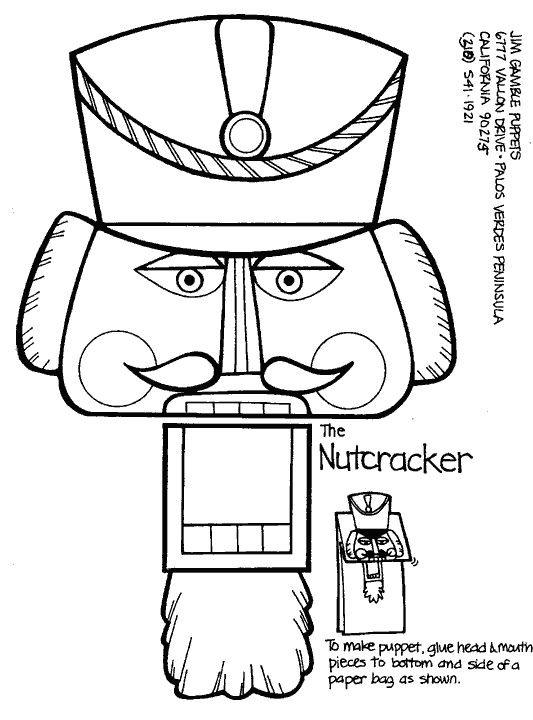 nutcracker suite coloring pages free - photo#29