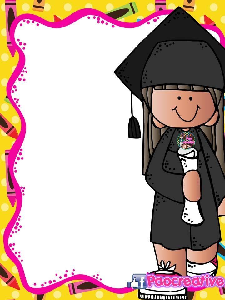 Portadas Editables Fin De Curso Y Graduacion Para Cuadernos Y Carpetas Etiquetas Preescolares Canciones De Ninos Graduacion De Guarderia