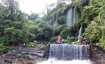 Benang Kelambu Waterfalls