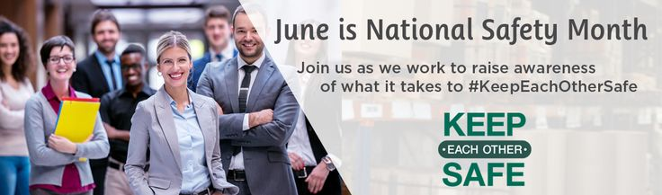 June is National Safety Month. Is your company ready for National Safety Month? Go to https://www.utahsafetycouncil.org/Content/National-Safety-Month.aspx?utm_content=bufferb26ad&utm_medium=social&utm_source=pinterest.com&utm_campaign=buffer to learn more.