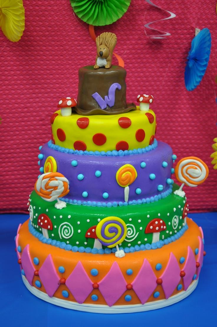 Willy Wonka Squirrel Cake