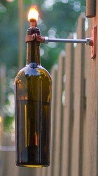 "Wine Bottle Tiki torch"" data-componentType=""MODAL_PIN"