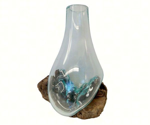 7 Best Molten Glass And Wood Root Decor Images On