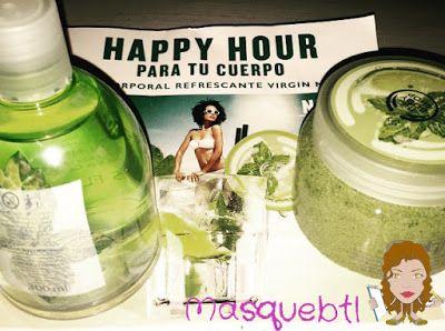 Virgin Mojito in The Body Shop. Masquebtl blog