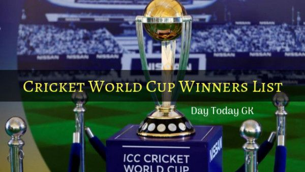 Cricket World Cup Winners List And Facts Cricket World Cup Winners World Cup Winners Cricket World Cup
