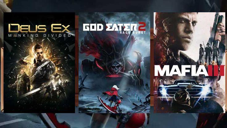 April Humble Monthly Bundle: Mafia 3, Deus Ex, God Eater 2