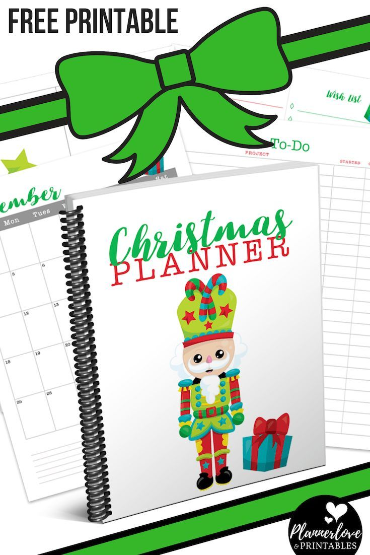 Adorable Nutcracker Themed Holiday Planner To Get You Organized This
