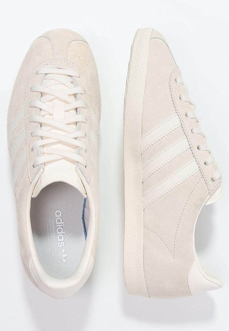 adidas Originals GAZELLE - Sneakers - chalk white/white - Zalando.se