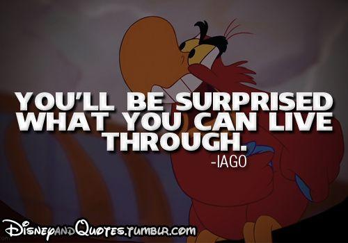 Disney sayings | ... jafar iago aladdin disney disney movie disney quotes posted on wed mar