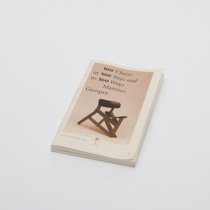 100 Chairs In 100 Days In 100 Ways: Martino Gamper, 3rd Edition Pocket Size