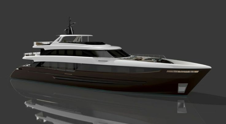 Italian Superyacht - BWA 41 - a 41m concept designed by Acube Design