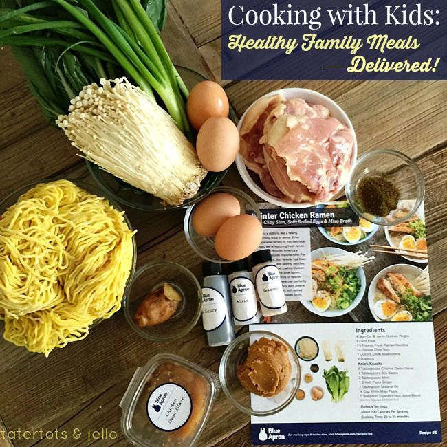 Cooking with Kids: Healthy Meals, Delivered! -- Tatertots and Jello
