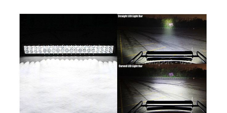 4D 24 inch LED Light Bars - Yitamotor YitaMotor 4D Lens LED light bars using the latest in 4D convex lens technology to increase bulb efficiency up to 3 times the light of your standard LED light bars . Install the 4D LED light bars on your truck and you are enjoying the extra light on the dark…